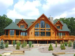 The Rum Hill Aurora Log Homes Llc Throughout Home With Wrap Around