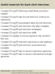 Clerical Resume Sample by Top 8 Bank Clerk Resume Samples