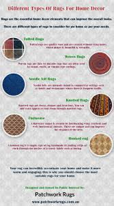 home decor infographic different types of rugs for home decor visual ly