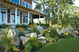 Backyard Slope Landscaping Ideas Garden Design Garden Design With Hillside Landscaping Tips For