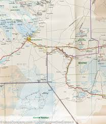 Kalahari Desert Map Map Of Botswana Reise Know How U2013 Mapscompany