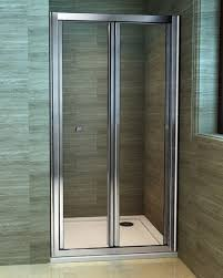 900 Bifold Shower Door by Bi Fold Shower Enclosures Bathroom On A Budget