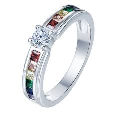 wholesale engagement rings online get cheap designer platinum engagement rings aliexpress