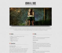 Best Place To Post Your Resume by 20 Top Cv Website Template Designs For You