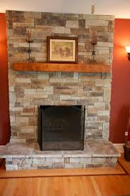 home decor new stone fireplace makeover cool home design