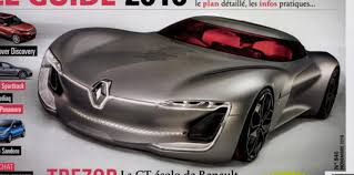 renault trezor renault trezor concept revealed early in magazine leak photos 1