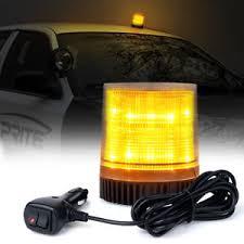 magnetic base strobe light rotating revolving amber magnetic base safety emergency led strobe