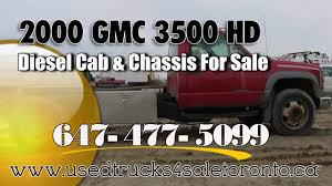 kenworth trucks for sale in ontario gmc 3500 hd diesel cab and chassis for sale toronto ontario youtube