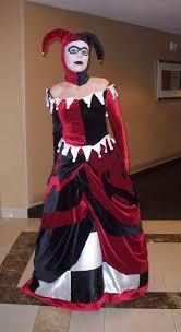 harley quinn wedding dress formal harley quinn by ravenspiritmage on deviantart