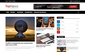 top news blogger template high quality free blogger templates