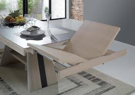 Table Bois Massif Contemporaine by Table Contemporaine Pied Central