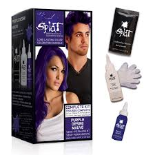 splat purple desire semi permanent hair dye for all hair colors