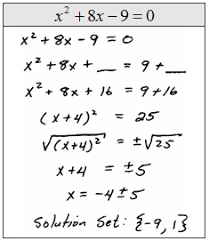 openalgebra com completing the square