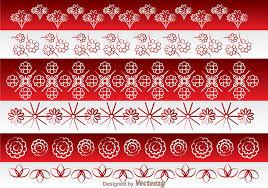 japanese culture ornament border free vector stock