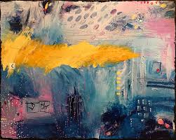 paint dream waking from a dream original abstract painting s fox art studio