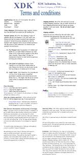 Terms And Conditions 5 Terms And Conditions