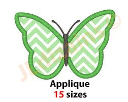 butterfly applique etsy