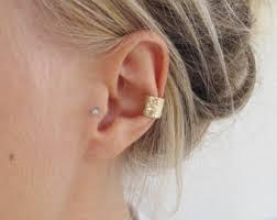gold ear cuff minimal ear cuff etsy
