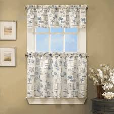 Lorraine Curtains Kitchen Tier Curtains By The Sea Kitchen Curtains By Lorraine