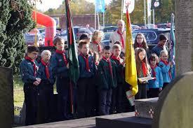 St Thomas Flag Remembrance Sunday 3rd Brampton St Thomas U0027 Scout Group