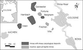 Aachen Germany Map by The Genesis Of Mass Carpological Deposits Bedload Carpodeposits