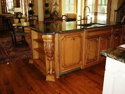 kitchen island with corbels island height corbels stunning addition to open kitchen design