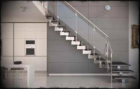 Stainless Steel Stairs Design Staircases Designs With Railing Side Mount Stainless Steel