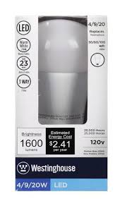 100 watt led light bulb 4 9 20 watt replaces 30 60 100 watt omni a21 3 way led light bulb
