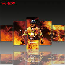 firefighter home decorations buy firefighter art and get free shipping on aliexpress com