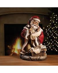 santa and baby jesus picture great deals on napco santa with baby jesus figurine 45520
