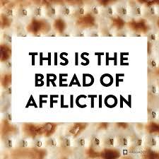 haggadah for passover bread of affliction haggadot