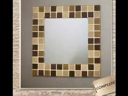 diy bathroom mirror frame ideas easy diy ideas for mirror frame decorations