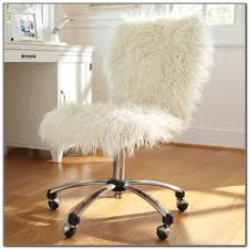 fur chair cover faux fur office chair cover office chairs