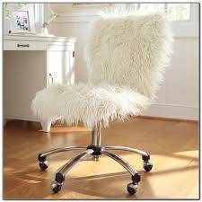 faux fur desk chair faux fur office chair cover office chairs