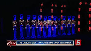 dancing lights in nashville the dancing lights of christmas opens in wilson county newschannel