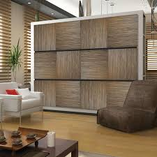 deflect o decorative wall panels zebrano pack of 4 by office depot