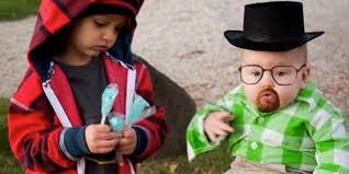 inappropriate halloween costumes this baby dressed as walter white has the best halloween costume