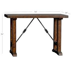 pottery barn counter height table benchwright bar height table pottery barn