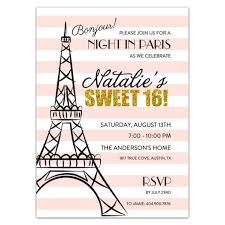 in sweet 16 invitations paperstyle