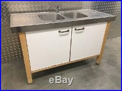stand alone kitchen sink unit ikea stainless steel metal