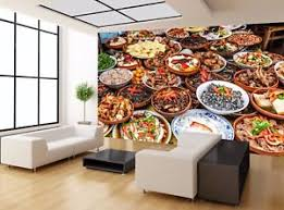 decor mural cuisine food restaurant wall mural photo wallpaper wall