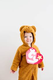Family Halloween Costumes With A Baby Laughing Latte Beanie Baby Costume Free Printable Beanie Baby