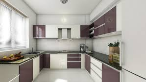architects in cochin interior decorators in ernakulam black currant colour enjoys the special attention in the design of a kitchen where it starts playing with new shades of champagne making the kitchen look