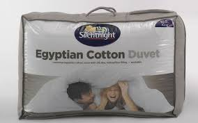 Silent Night Duvet Silentnight 13 5 Tog Winter Egyptian Cotton Duvet Mattress Online