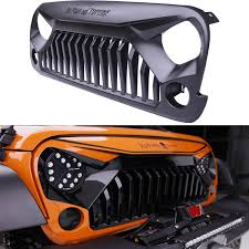 jeep grill logo vector amazon com topfire
