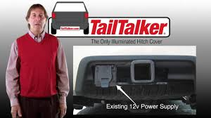 Firestorm Scanning Led Tailgate Light Bar by Tailtalker The Only Illuminated Hitch Cover Youtube