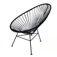 Esszimmerstuhl Poltrona Frau Ok Design The Acapulco Chair Schwarz Stühle Pinterest
