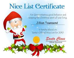 13 best photos of nice list certificate free printable free nice