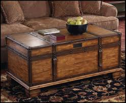 Trunk Coffee Table With Storage Stunning Storage Trunk Coffee Table Ideas And Design