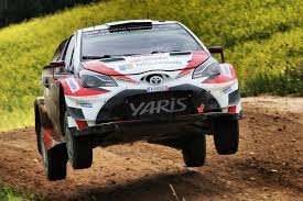 toyota rally car toyota marks wrc return rally australia sponsorship